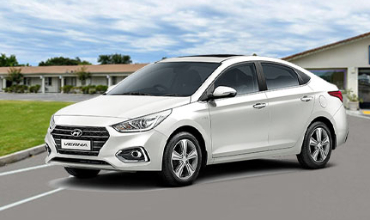Hyundai verna car rental