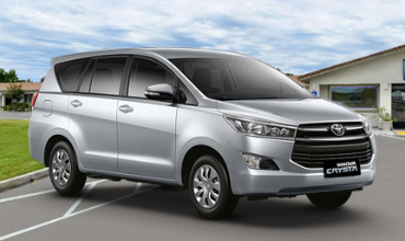 toyota innova crysta Car on rent