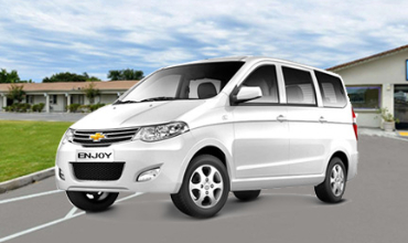 Chevrolet Enjoy Car on rent